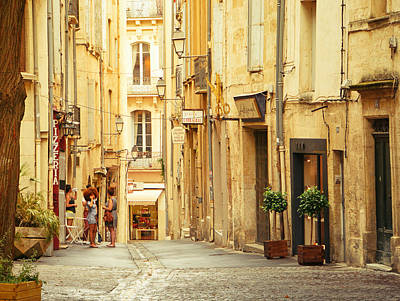South Of France Photograph - France - Montpellier - Europe by Vivienne Gucwa