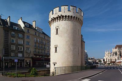 Caen Photograph - France, Normandy, Caen, Tour Leroy Tower by Walter Bibikow