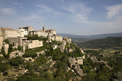 France, Provence, Gordes. � Angelo Print by Tips Images