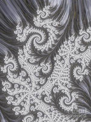 Franciful Frost  Print by Heidi Smith