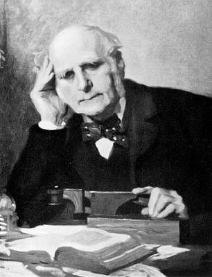 Eugenics Photograph - Francis Galton by American Philosophical Society