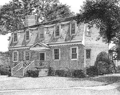 Francis Land House Print by Stephany Elsworth