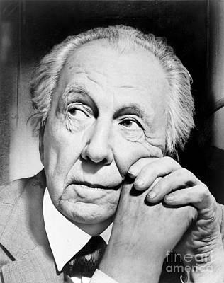Frank Lloyd Wright Print by Granger