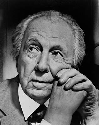 Recognize Photograph - Frank Lloyd Wright by Mountain Dreams