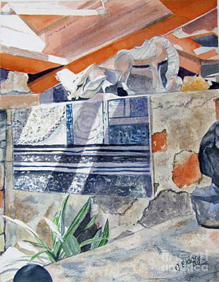 Frank Lloyd Wright Painting - Frank Lloyd Wright Taliesin West 2 by Carol Flagg