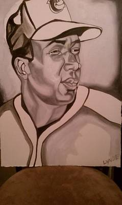 Cal Ripken Painting - Frank by Lynde Washington