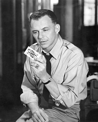 Frank Sinatra Photograph - Frank Sinatra In Some Came Running  by Silver Screen