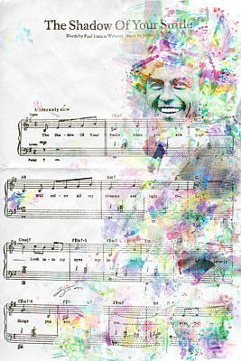 Smile Mixed Media - Frank Sinatra by Jonas Luis