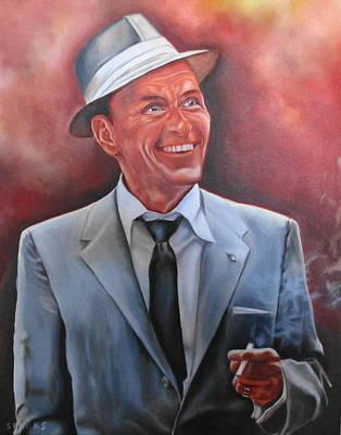 Frank Sinatra Print by Mark Robinson