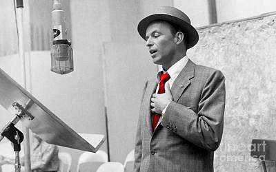 Frank Sinatra Mixed Media - Frank Sinatra Painting by Marvin Blaine