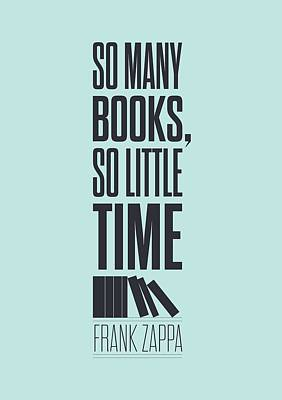 Frank Zappa Quote Typography Print Quotes Poster Print by Lab No 4 - The Quotography Department