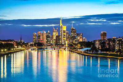 Frankfurt Am Main Print by JR Photography