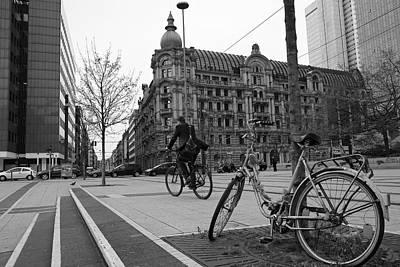 Frankfurt's Square Print by Art CineMedia