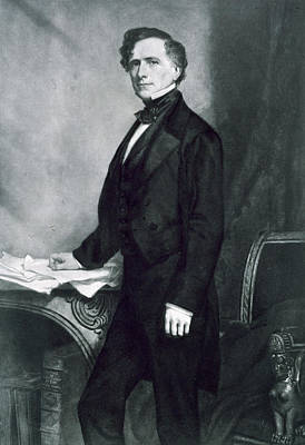 Democrat Painting - Franklin Pierce by George Healy