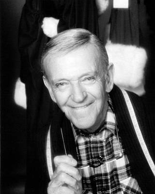 Fred Astaire In The Man In The Santa Claus Suit  Print by Silver Screen