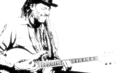 Music Photograph - Freddy And His Guitar by VRL Art