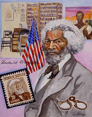 Frederick Douglass Print by Jan Mecklenburg