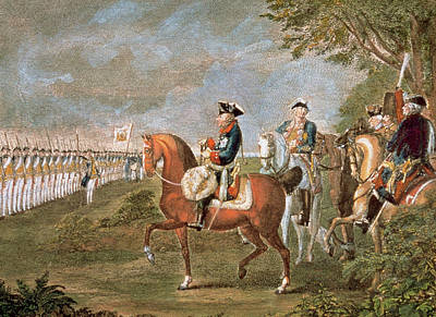 Frederick Photograph - Frederick II The Great (1712-1786 by Prisma Archivo