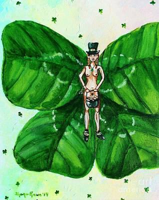Free As St. Patrick's Luck Print by Shana Rowe Jackson
