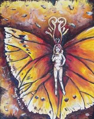 Free As The Flame Print by Shana Rowe Jackson