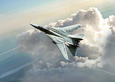 F-14 Digital Art - Freebird by Peter Chilelli
