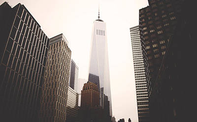Freedom Photograph - Freedom Tower  by Amber Fite