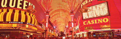 Fremont St Experience, Las Vegas, Nv Print by Panoramic Images