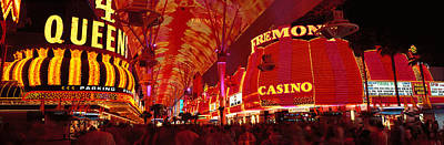 Fremont Street, Las Vegas, Nevada, Usa Print by Panoramic Images