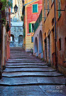 French Alley Print by Inge Johnsson