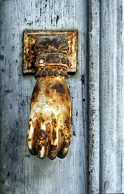 French Door Knocker Print by Georgia Fowler
