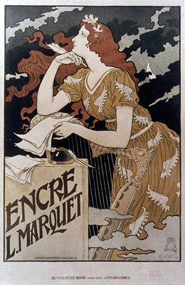 French Ink Advertisement Print by Granger