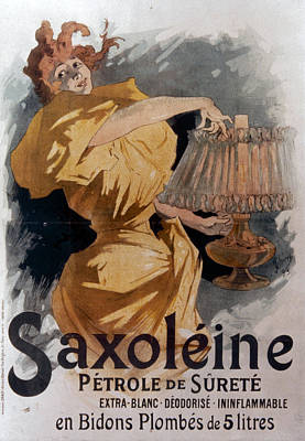 French Lamp Oil Ad, 1895 Print by Granger
