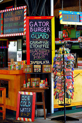 Catfish Photograph - French Market New Orleans by Christine Till