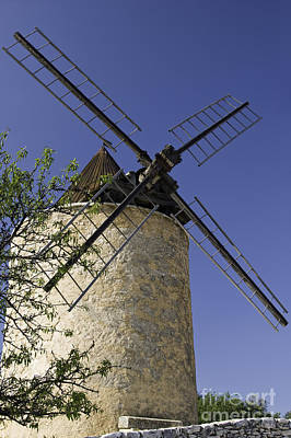 French Moulin Print by Bob Phillips