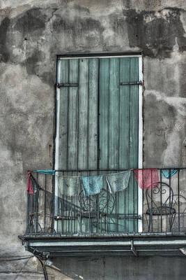 French Quarter Balcony Print by Brenda Bryant