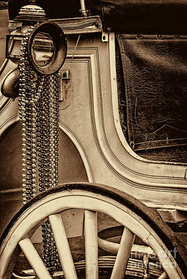 Kathleen Photograph - French Quarter Carriage And Beads by Kathleen K Parker