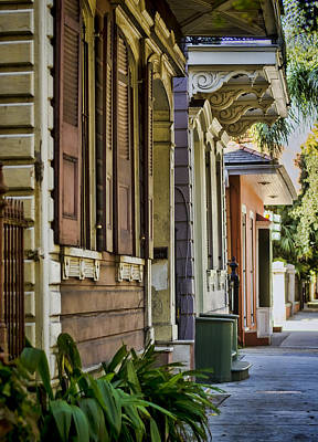 French Quarter Color Print by Heather Applegate