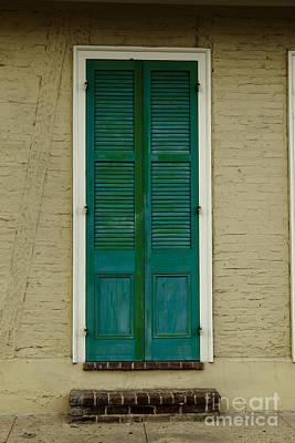 French Quarter Door - 15 Print by Susie Hoffpauir