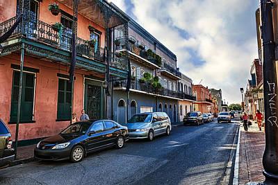 St Charles Avenue Photograph - French Quarter by Sennie Pierson