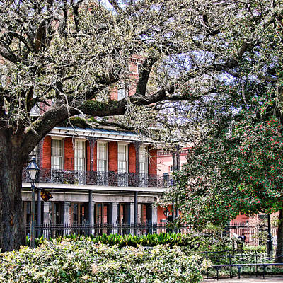 French Quarter Spring Print by Olivier Le Queinec