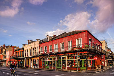 French Quarter Waking Up To A New Morning - New Orleans Louisiana Print by Silvio Ligutti