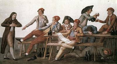 French Revolution. Committee Of Public Print by Everett