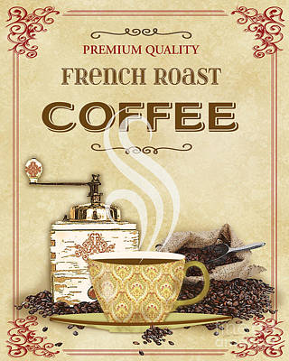 French Roast Coffee-jp2251 Original by Jean Plout