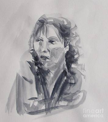 Novel Painting - French Woman At War by Martin Howard