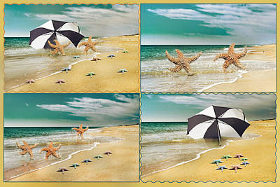 Fresh From The Sea Print by Betsy C Knapp