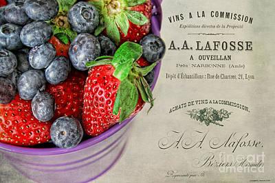 Fresh Fruits Print by Darren Fisher