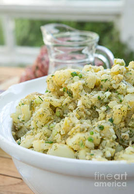 Fresh Potato Salad Print by Iris Richardson