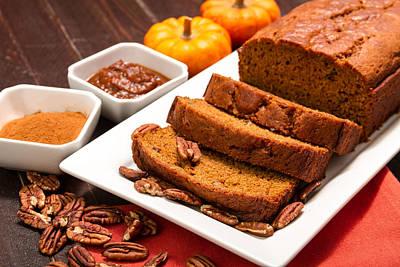 Fresh Pumpkin Bread Original by Teri Virbickis