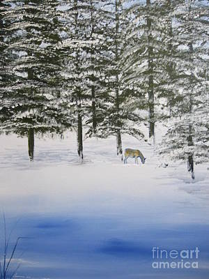 North American Wildlife Painting - Fresh Start by Laurianna Taylor