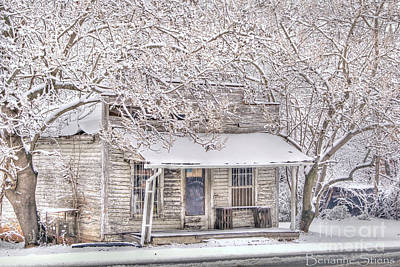 Winter Landscapes Photograph - Freshwater Grocery by Benanne Stiens